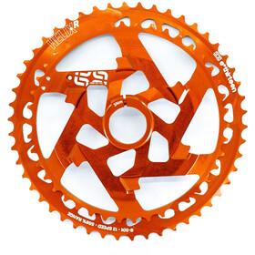 e*thirteen Helix Race Upper Sprocket 12-speed Aluminium, naranja